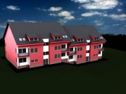 Nová výstavba bytů 3+1, Vizovice, okr. Zlín